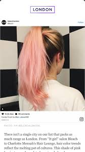 Pink Hair Hair Coloring Colors Color