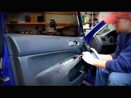honda civic door panel removal how to repair the power window in your door you