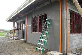 Small Picture Our Philippine house project walls and wall footers My