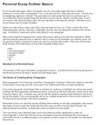 Examples Personal Essays How To Write A Personal Essay Step By Step Guide At Kingessays