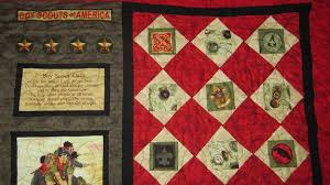 Boy Scout quilt 80 years & Attached Images Adamdwight.com
