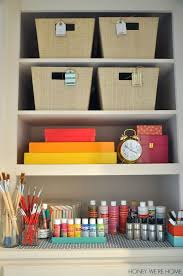 office closet shelving. organized craft closet honey weu0027re home office shelving