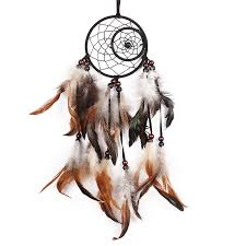 newest india styles handmade dream catcher with feathers car wall hanging decoration gift room decor dreamcatcher pandacord