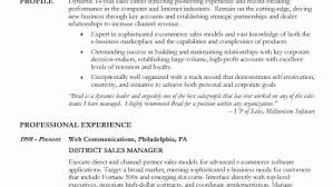 Career Focus On Resumes Resume For Marketing And Sales Resume Sample