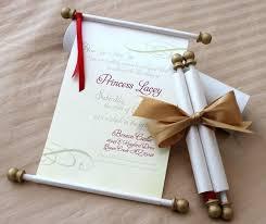 Scroll Birthday Invitations Scroll For Invitation Under Fontanacountryinn Com