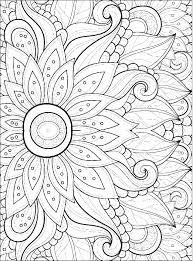 Pictures Of Spring Flowers To Colour In Flowers Color Pages Print