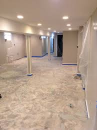 epoxy flooring basement. Floor: Picturesque Design Epoxy Flooring Basement Brooklyn G