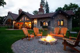 paver patio with fire pit. Building A Paver Patio With Fire Pit For Beautiful Backyard Design Teak Wood Furniture .
