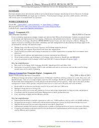 Regular Software Program Manager Resume Sample Software Project