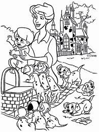 101 dalmatians coloring page 2