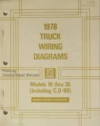 1978 chevy gmc truck van suburban blazer 10 35 electrical wiring 1978 gmc chevy truck models 10 thourgh 35 electrical wiring diagrams