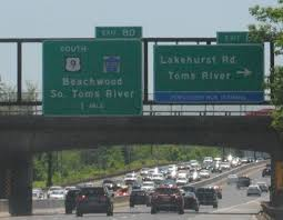 traffic was building northbound on the garden state parkway in toms river at 2 p m