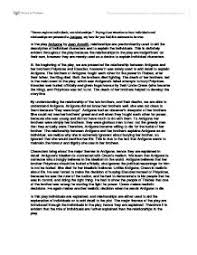 ib english antigone essay international baccalaureate languages  page 1 zoom in
