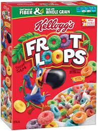 kellogg s froot loops breakfast cereal fruit flavored 8 7 oz walmart
