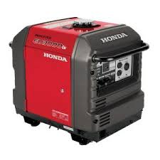 electric generator. Honda 3000-Watt Gasoline Powered Electric Start Portable Generator With Eco-Throttle And Oil Alert-EU3000iS - The Home Depot