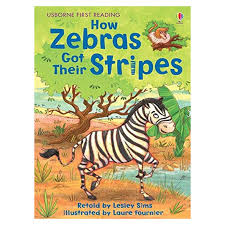 Usborne First Reading Level 2 How Zebras Got Their Stripe By Lesley Sims  Best Price in Pakistan | Online Shopping in Pakistan || Telemart
