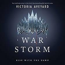 amazon war storm audible audio edition victoria aveyard harperaudio books
