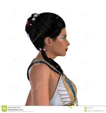 Ancient Egyptian Hair Style egyptian nefertiti with hair royalty free stock photos image 1933 by wearticles.com