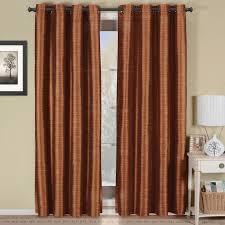 with love home decor rust geneva multilayer energy savings blackout grommet curtain panel 43 99