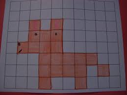 Graph Paper Draw Pictures Of Animals On Grid Paper Pictures Of Nnature