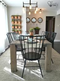 modern farmhouse dining tables modern farmhouse dining table modern rustic dining room set