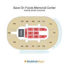 Save On Foods Memorial Centre Victoria Seating Chart Save On Foods Memorial Centre Events And Concerts In