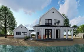 Contemporary Detached Garage Designs Plan 62650dj Modern Farmhouse Plan With 2 Beds And Semi