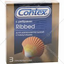 <b>Презерватив</b> «<b>Contex</b>» <b>Ribbed ребристые</b> 3 шт. - Каталог товаров