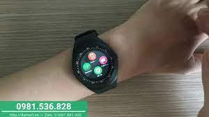 Đồng hồ thông minh Y1 - Mặt tròn, giá rẻ, lắp sim nghe gọi - YouTube