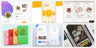 Graphic Design Apps 20 Fresh Food Mobile App Designs For Your Inspiration