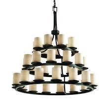dakota 36 light 3 tier ring chandelier