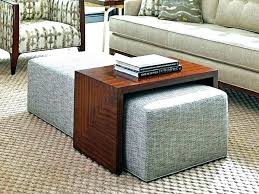 storage ottoman coffee table coffee tables with ottomans coffee tables with storage ottomans fascinating coffee table with ottoman underneath coffee storage