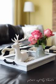 diy tray from and old picture frame placeofmytaste com