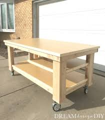 Garage Workbench Plans And Patterns Awesome How To Build The Ultimate DIY Garage Workbench FREE Plans