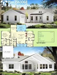 one story house plans with porch. One Story House Plans With Porch And Bonus Room Beautiful Plan Ge E Farmhouse