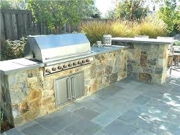 diy built in grill outdoor