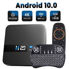 Buy Online HONGTOP tv box android 10 2.4G wifi 2GB 16GB android 10 tv box  4K HD 3D video H.265 media player smart tv box android top box Alitools