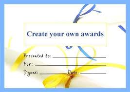 Make Award Certificates Online Com How To An Certificate