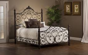metal bedroom sets. amazon.com: panel bed set with rails in antique brown finish (queen: 85 in. l x 66.25 w 72 h): kitchen \u0026 dining metal bedroom sets s