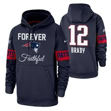 Patriots Brady Hoodie Pullover Tom Forever Performance Faithful