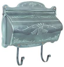 Residential Mailboxes Wall Mount Floral
