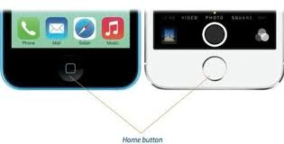 iphone home button. iphone home button