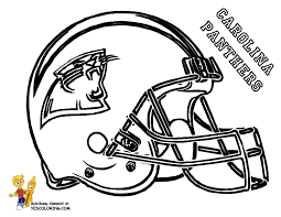 Pro Football Helmet Coloring Page Nfl Football Free Coloring