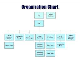Small Company Organizational Chart Sample Www