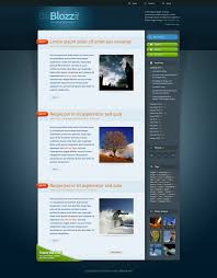 Professional Templates Freebie Blozzit A Free Professional Html Css Web Template