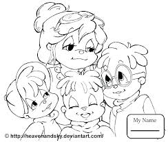 and the chipmunks coloring pages chipmunk alvin co