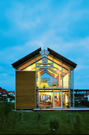 Steel Framed Split-Level Home in Germany. Arch HouseContainer HousesModern  ...