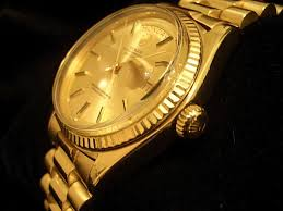 mens rolex day date president 18k 18kt yellow gold watch w gold mens rolex day date president 18k yellow gold watch w gold stick dial 1803