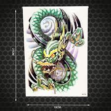 прохладный жемчуг дракона лапа временная татуировка для боди арта