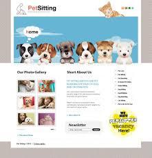 pet website templates sample resume service pet website templates website templates for about 2498 pet sitting website template new